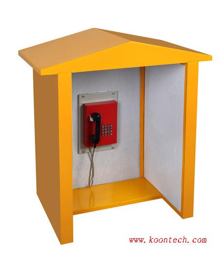 抗噪消音电话亭