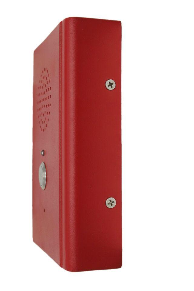 淘宝店:昆仑工业通讯平台 旺旺:工业通讯平台 微信号:KOON54 1、产品特点  一键拨号   切换监控画面  来电闪灯提示  通话时间限制  自动挂机  高防水、防尘性能,全冷轧钢板机壳,防护等级达到IP55。  高耐用性,线材采用铁氟龙线,抗油、抗强酸、抗强碱、抗强氧化剂符合军工标准GJB-773及UL1332的要求。 2、应用范围 用于电梯、高速公路客户中心、火车站、机场