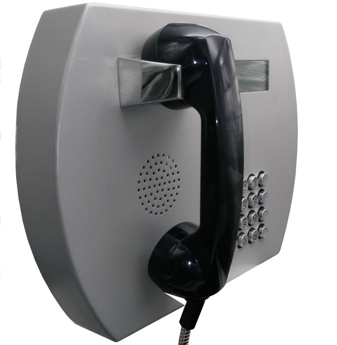 产品名称:昆仑KNZD-66 LCD电话机 产品型号:KNZD-66 产品材质:冷板喷涂 防水等级: 尺寸规格:330*250*50mm 安装方式:壁挂式 安装螺丝:M8*30十字槽加外六角平头螺丝+M8顶爆/每台4套 外形尺寸图:如下图