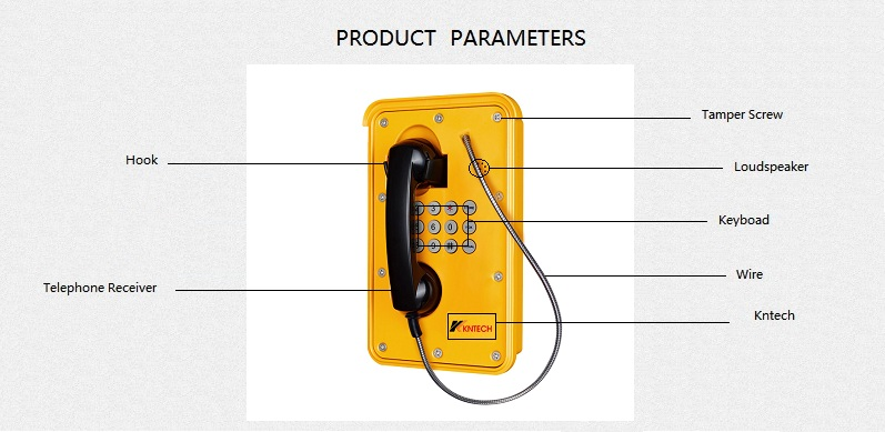 wall mounted telephone describe