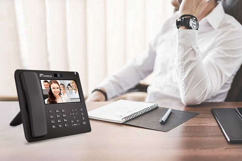 video telephone for conference office desk