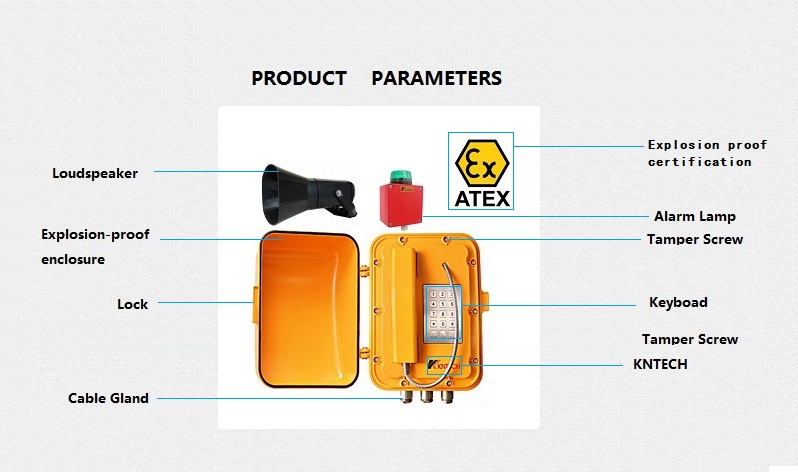 explosion proof telephone description