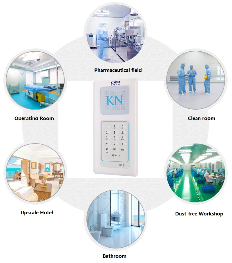 cleanroom intercom application place
