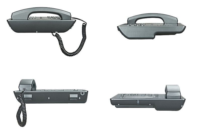 the ip phone side view