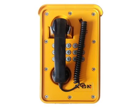 Waterproof emergency telephone