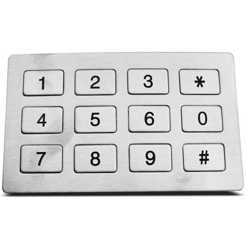 Phone Keypad have letters  KNTECH