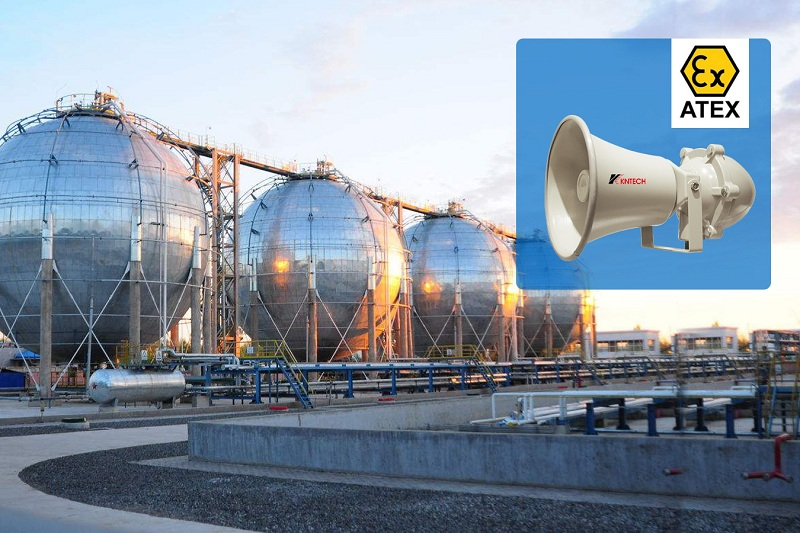 hazardous area horn loudspeaker outdoor