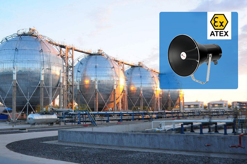 explosion proof speaker application outdoor